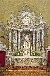Lazzarinijev oltar posvečen sv. Frančišku