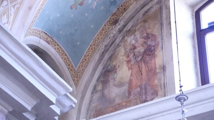 Freska sv. Jožefa, Postojna, župnijska cerkev