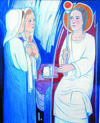 Pot luči, 1. postaja: Jezus vstane od mrtvih
