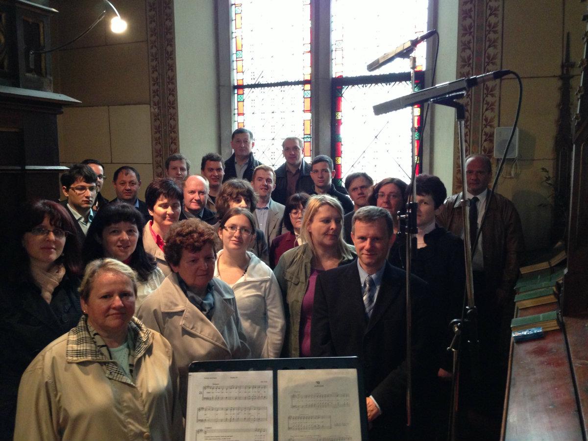 Cerkveni mešani zbor župnije sv. Martina Moravče