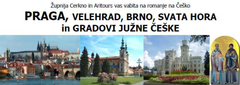 Romanje na Češko 2017