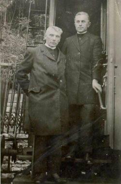 Jerič Ivan in Jožef Klekl okrog leta 1932 (vir: dlib.si)