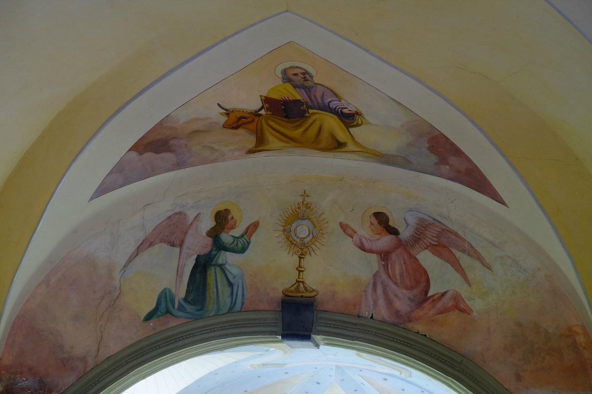 freke angelov Dutovlje Cerkev