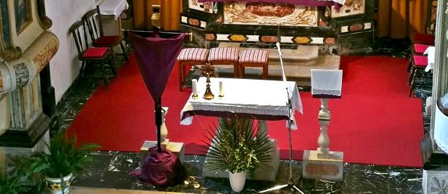 Oltar Sv. Jurija Dutovlje